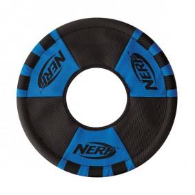NERF Dog Zieh-Wurfring Blau/Orange 28cm