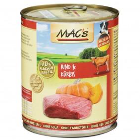 MAC's Dog Rind und Kürbis