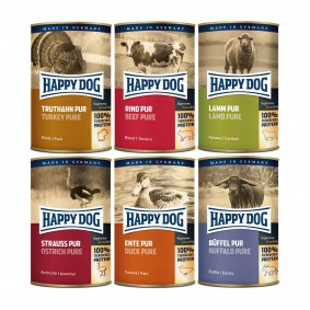 Happy Dog Nassfutter Mixpaket 6x400g