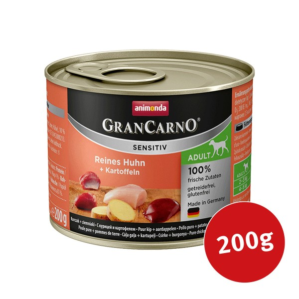 Animonda Hundefutter Grancarno Sensitiv Huhn & Kartoffel