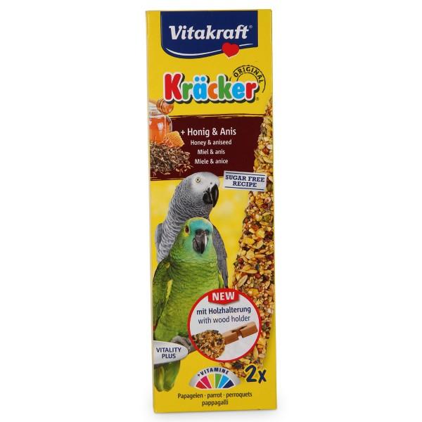 Vitakraft Kräcker Honig-Anis für Papageien