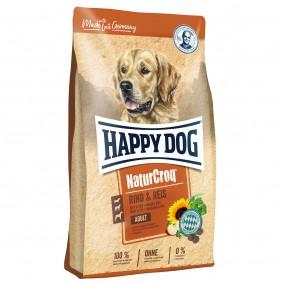 Happy Dog NaturCroq hovězí a rýže