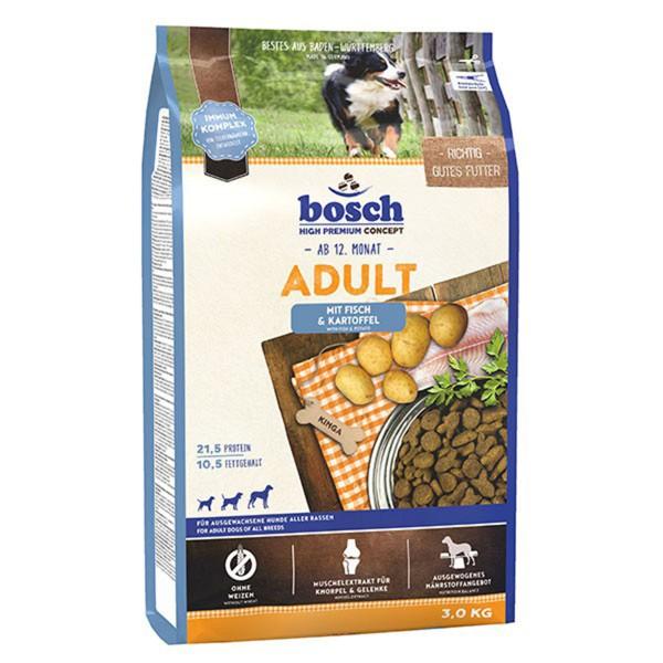 Bosch Hundefutter Adult Fisch & Kartoffel - 3kg
