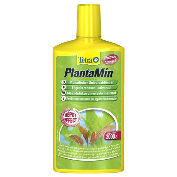 Tetra PlantaMin Monatlicher Universaldünger