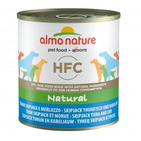 Almo Nature HFC Natural Dog Skip Jack tuňák a treska obecná