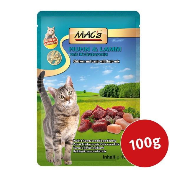 MAC's Cat Katzenfutter Huhn und Lamm