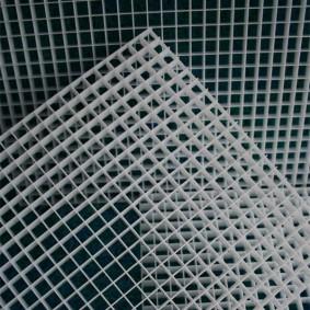 AquaLogistik Lichtstegplatte 121x60,2cm/ Raster 13x13x13mm