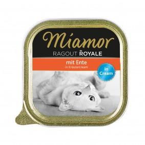 Miamor Ragout Royale Ente in Kräutercream 100g Alu-Schale