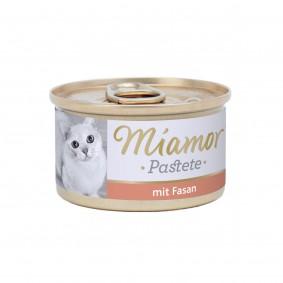 Miamor Katzenzarte Fleischpastete mit Fasan