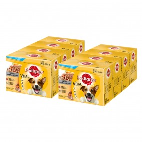 Pedigree Portionsbeutel Multipack Adult in Pastete