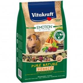 Vitakraft Emotion Pure Nature Veggie Meerschweinchen 600g