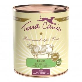 Terra Canis CLASSIC - Rind mit Karotte, Apfel und Naturreis