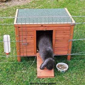 Trixie Kleintierhaus Natura für Kaninchen 51x42x43cm