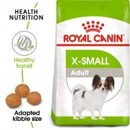 Royal Canin Hundefutter X-Small Adult 2x3kg für kleine Hunde