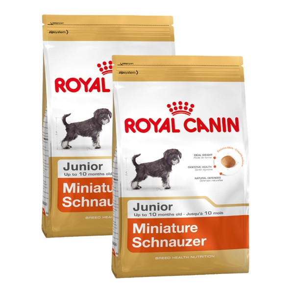 Royal Canin Miniature Schnauzer Junior - 2x1,5k...