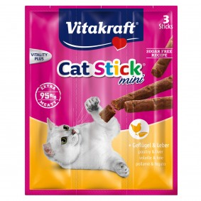 Vitakraft Cat-Stick mini Geflügel und Leber