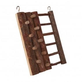 Trixie Kletterwand für Kleintiere aus Naturholz