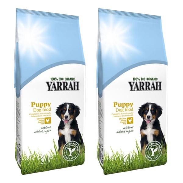 Yarrah Hundefutter Bio Welpen Huhn 2x3kg