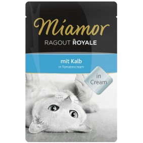 Miamor Ragout Royale Kalb in Tomatencream Frischebeutel