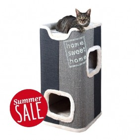 Trixie Kratztonne Cat Tower Jorge