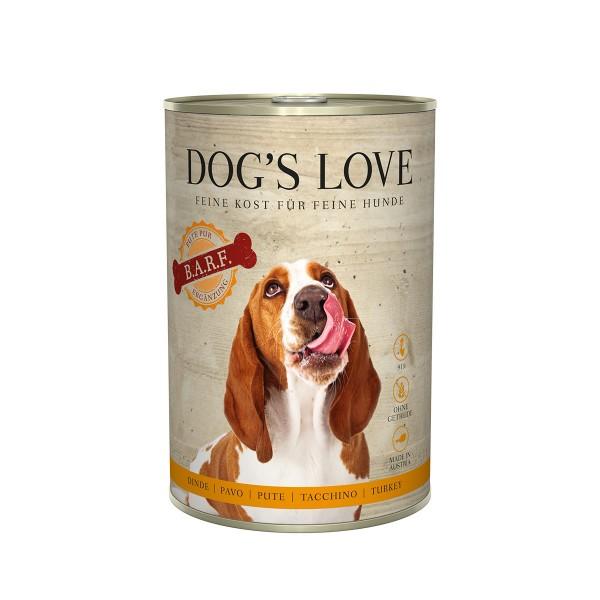 Dog's Love B.A.R.F Pute Pur