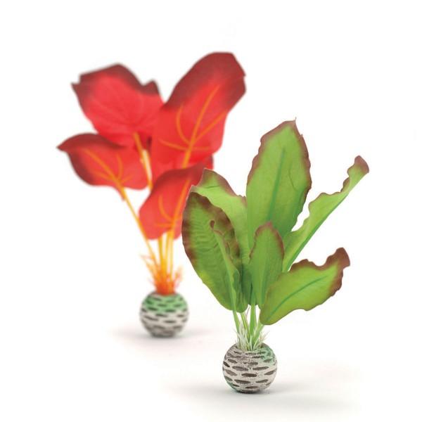 biOrb Aquariumpflanze rot/grüne Seidenpflanze S