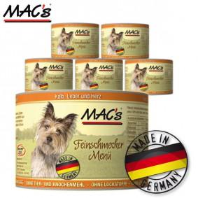 MAC's Dog Hundefutter Feinschmecker Menü