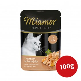 MIAMOR Feine Filets Thunfisch in Lachsjelly