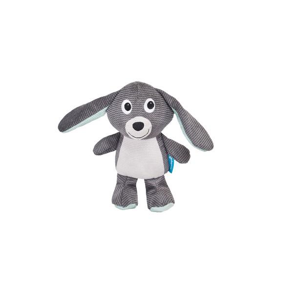 ZooRoyal Hundespielzeug Hase Anthrazit