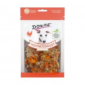 Dokas Hundesnack Hühnerbrust mit Karotte
