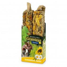 JR Farm Nagersnack Grainless Farmys Sonnenblume-Kamille 140g