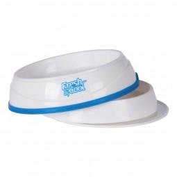 Trixie Fresh & Cool Kühlnapf weiß/blau