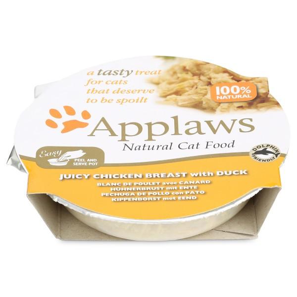 Applaws Cat saftige Hühnerbrust mit Ente