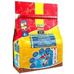 Tetra Pond Teichfutter Koi Colour & Growth Sticks 4L