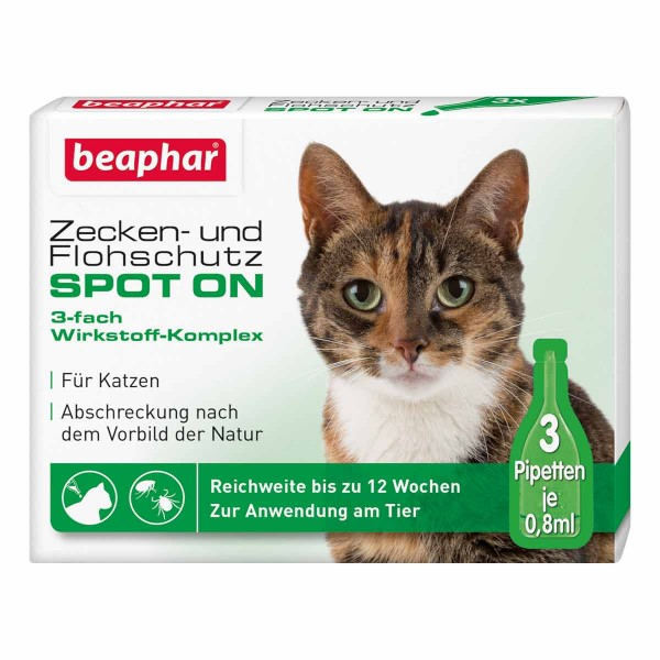 beaphar Zecken-& Flohschutz