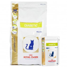 Royal Canin Vet Diet Diabetic DS 46 3,5kg + 12x100g