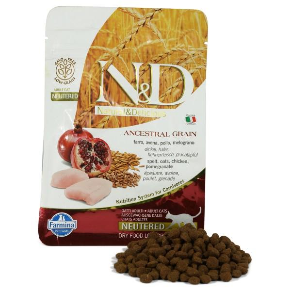 N&D Adult getreidearm Huhn und Granatapfel für ...