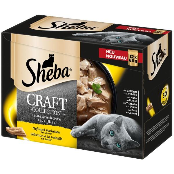 sheba craft collection gefl gel variation 12x85g bei zooroyal. Black Bedroom Furniture Sets. Home Design Ideas