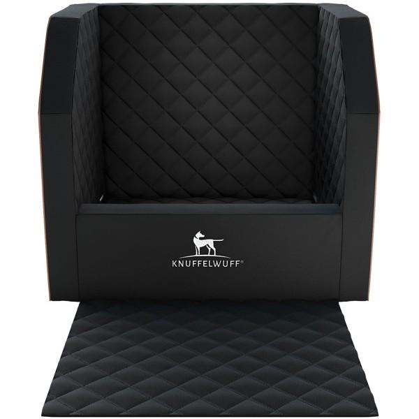 Knuffelwuff Auto Hunde Sitzschutz Cargo für den Vordersitz schwarz