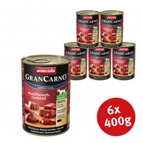 Animonda Hundefutter GranCarno Original Adult Multifleischcocktail