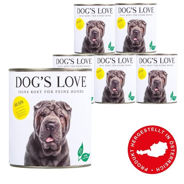 Dog's Love Classic Huhn mit Birne, Quinoa & Karotte 800g 11 plus 1