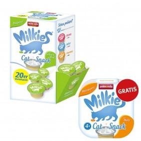 Animonda Katzensnack Milkies Schleck-Snack Balance 20x15g PLUS 4x15g Gratis