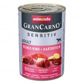 Animonda Grancarno Sensitiv s hovězím masem a brambory