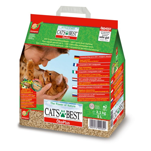 Cats Best Öko Plus Katzenstreu 5L