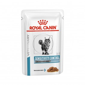 Royal Canin VHN SENSITIVITY CONTROL Cat kuřecí maso a rýže