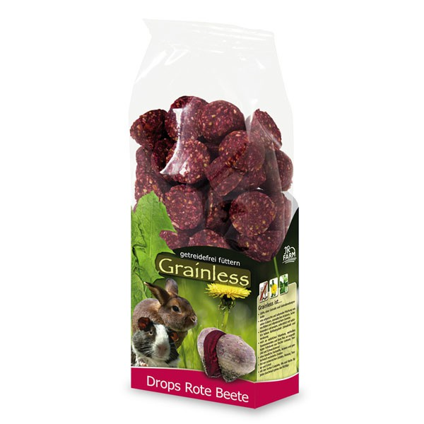 JR Farm Grainless Drops Rote Beete 140g