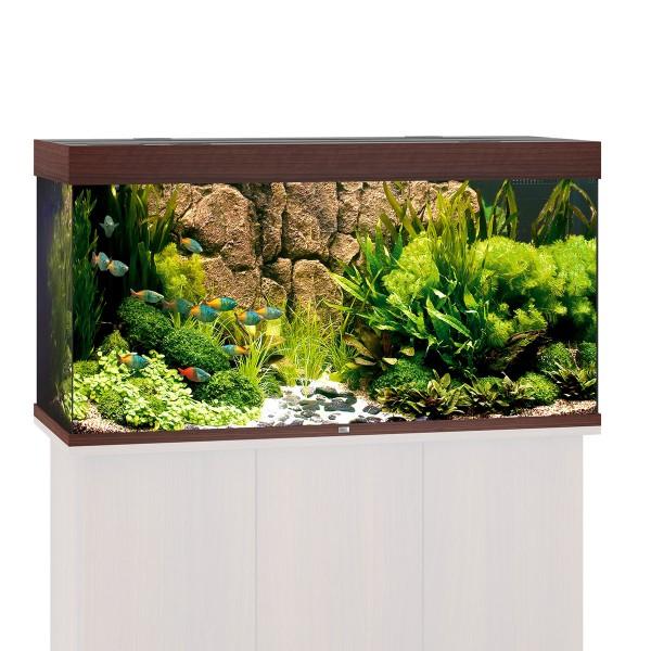 Juwel Rio 300 Aquarium ohne Schrank - Dunkelbraun