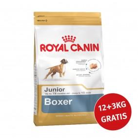 Royal Canin Boxer Junior 12kg+3kg Gratis!