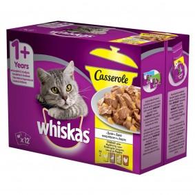 Whiskas Casserole drůbeží výběr v želé