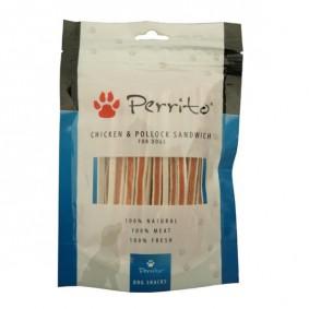Perrito Chicken & Pollock Sandwich für Hunde